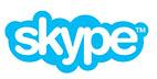 Logo azul skype