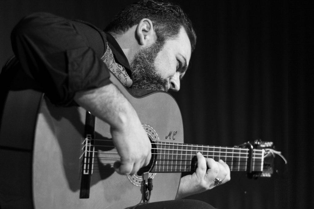 Maurizio Delrío-Guitarra Mariano Conde